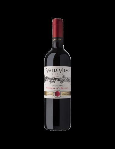 Vinos Winemaker Carmenere Marca Valdivieso