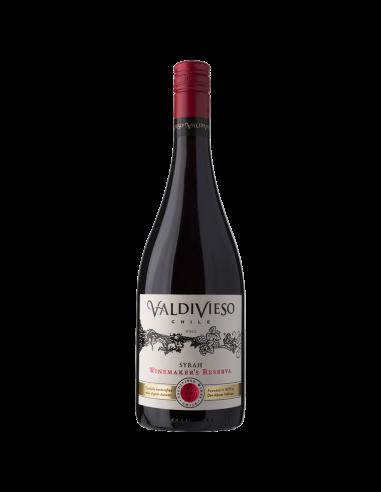 Vinos Winemaker Syrah Marca Valdivieso