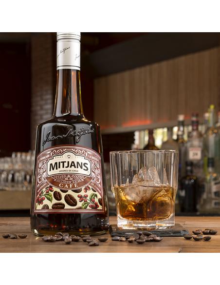 Licores y Destilados Licor de Cafe Marca Mitjans