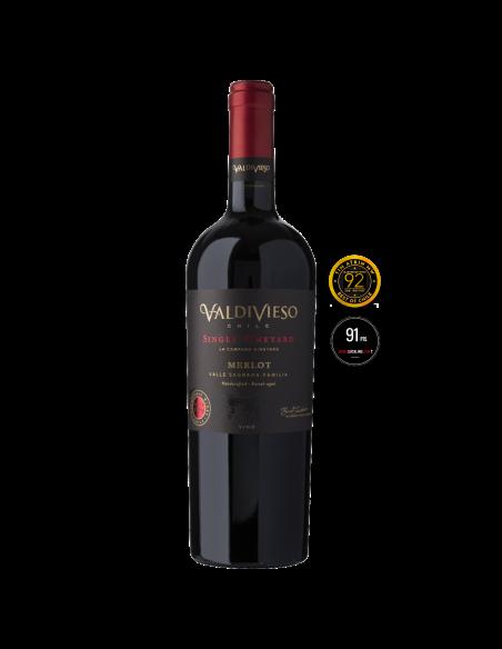 Vinos Single Vineyard Merlot Marca Valdivieso