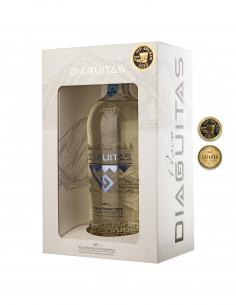 Licores y Destilados Pisco Diaguitas 40° Premium Transparente (en caja) Marca Diaguitas